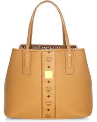 MCM - Project Leather Shoulder Bag - Lyst