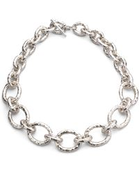 Ippolita - Glamazon Sterling Silver Bastille Link Chain Necklace - Lyst