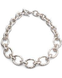 Ippolita - Women's Glamazon Sterling Silver Bastille Link Chain Necklace - Silver - Lyst