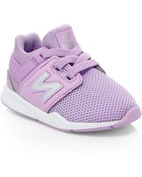 39798ea1413f New Balance - Baby s 247v2 Trainers - Dark Violet - Size 6 (baby) -