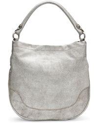 Frye - Melissa Metallic Leather Hobo Bag - Lyst