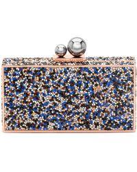 Sophia Webster | Clara Crystal-embellished Box Clutch | Lyst