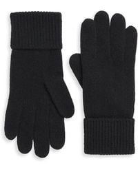 Portolano - Folded Cuffs Cashmere Gloves - Lyst