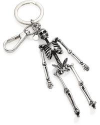 Alexander McQueen - Skull Key Ring - Lyst