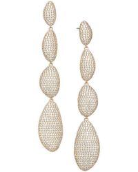 Adriana Orsini - Cascading Pebble Drop Earrings - Lyst