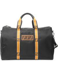 Fendi - Vitello Century Santander Duffel Bag - Lyst