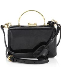 Mark Cross - Grace Mini Box Leather Clutch - Lyst