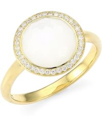 Ippolita - Rock Candy® Diamond, Mother-of-pearl & 18k Yellow Gold Ring - Gold - Lyst