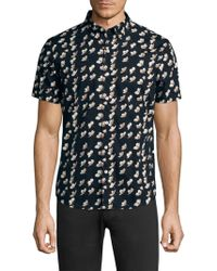 Bonobos - Floral Cotton Button-down Shirt - Lyst