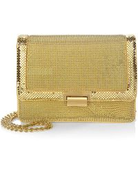 Whiting & Davis - Milano Pyramid Clutch - Lyst