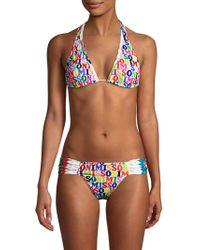 Missoni - Logo Braided Bikini Bottoms - Lyst