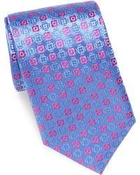 Charvet | Geometric Pattern Tie | Lyst