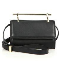 M2malletier - Mini Fabricca Leather Crossbody Bag - Lyst