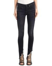 R13 - Kate Dark Skinny Jeans - Lyst
