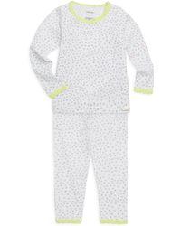 CALVIN KLEIN 205W39NYC - Little Girl's & Girl's Two-piece Cotton Pajama Set - Lyst