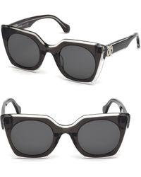 Roberto Cavalli - 48mm Square Sunglasses - Lyst