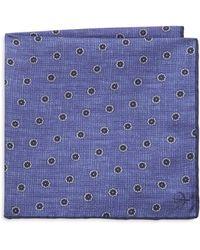 Canali - Silk Pocket Square - Lyst