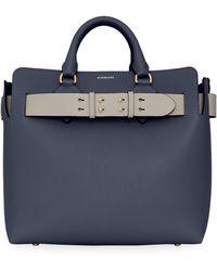 Burberry - Medium Leather Belt Shoulder Bag - Lyst