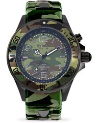 Kyboe | Camo Stainless Steel Strap Watch | Lyst