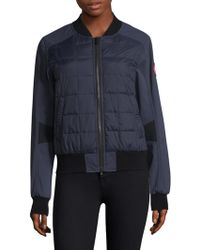 Canada Goose - Hanley Down Filled Bomber Jacket - Lyst