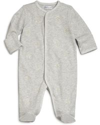 Ralph Lauren | Baby's Embroidered Pony Footie | Lyst