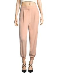 Tibi - Cropped Cuffed Pants - Lyst