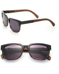 Shwood - Prescott 52mm Rectangular Sunglasses - Lyst