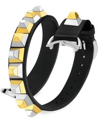 Fendi - Selleria Leather Watch Strap/17 Mm - Lyst