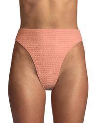 Same Swim - The Cindy High Rise Bikini Bottoms - Lyst