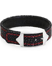 Stinghd - Luxe Stingray Leather Bracelet - Lyst