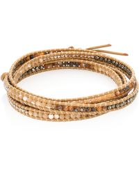Chan Luu - Sodalite & Agate Wrap Bracelet - Lyst