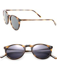 cb73d1530187 Oliver Peoples - The Row For Oliver Peoples O malley Nyc 48mm Round  Sunglasses -