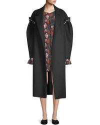 Mother Of Pearl - Webb Wool & Pearl Coat - Lyst