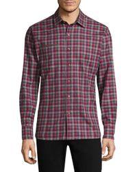 Robert Graham - Jamestown Cotton Button-down Shirt - Lyst