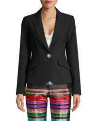 Trina Turk - Cocktail Soiree Gala Crystal Button Blazer - Lyst