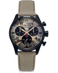 Alpina - Sapphire Crystal Quartz Watch - Lyst