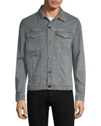 J Brand - Gorn Point Collar Denim Jacket - Lyst