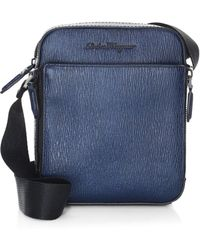 Ferragamo - Revival Leather Crossbody Bag - Lyst