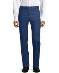 Paul & Shark - Men's Stretch Cotton Pants - Royal Blue - Size 48 (32) - Lyst