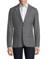 AMI - Wool Notch Lapel Sportcoat - Lyst