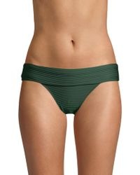 Heidi Klein - Po Fold-over Bikini Bottom - Lyst
