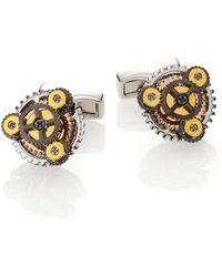 Tateossian - Gear Rotondo Cuff Links - Lyst