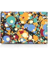Victoria Beckham - Abstract Print Card Holder - Lyst