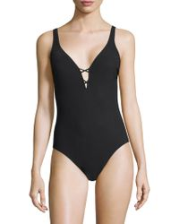 Gottex - Crocheted One-piece Swimsuit - Lyst