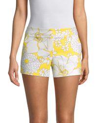 Trina Turk - Corbin Floral Shorts - Lyst