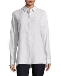 Lafayette 148 New York - Alyssa Button-front Shirt - Lyst