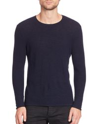 Rag & Bone - Giles Crewneck Sweater - Lyst