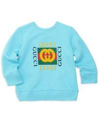 Gucci - Baby Boy's Logo Sweatshirt - Lyst