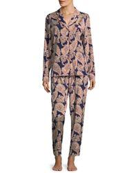 Stella McCartney - Poppy Snoozing Paisley Pajamas - Lyst
