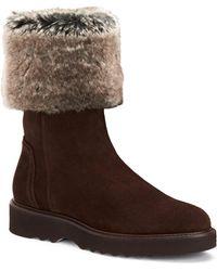 Aquatalia - Kelly Faux Fur Boots - Lyst